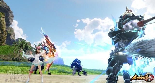《仙侠世界2》9.15开启公测 一起打野战掉元宝!